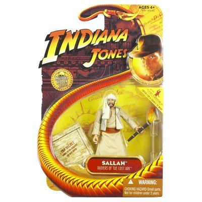 Indiana Jones Raiders of the Lost Ark Sallah 3-3/4 Inch Scale Action Figure