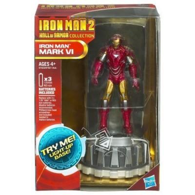 Iron Man 2 Hall of Armor Collection Figure Iron Man Mark VI