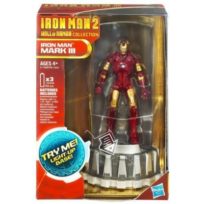 Iron Man 2 Hall of Armor Collection Figure - MARK lll w/Base