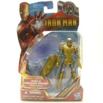 Iron Man The Armored Avenger Concept Series Figure Shield Breaker Armor Iron Man #01