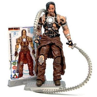 """Marvel Iron Man 2 Action Figure Ivan """"Whiplash"""" Vanko #14 3.75 Inch"""