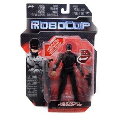 6 Robocop Light-up Action Figure 3.0 (Black)