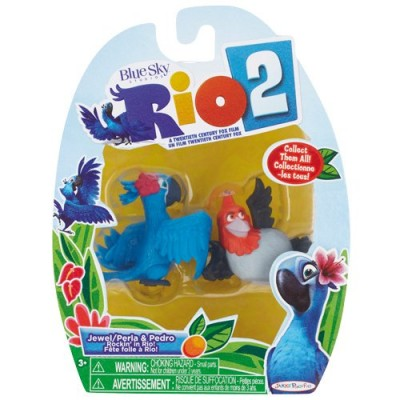 Rio 2 - Jewel/Perla & Pedro 2 pack movie figure