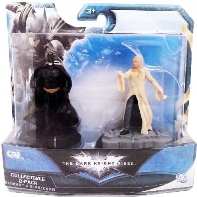"The Dark Knight Rises Batman & Scarecrow 3"" Figure Collectible 2-Pack"