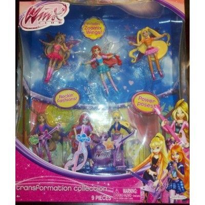 "Winx Exclusive Transformation Collection 3.75"" Small Doll 6 Pack"