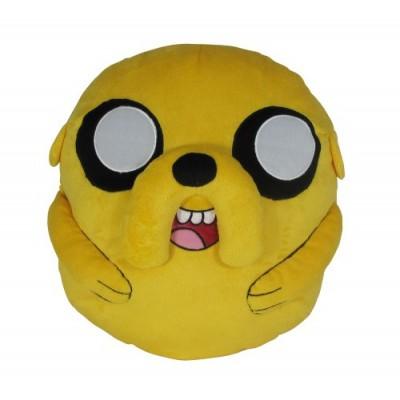 "Jazwares Adventure Time Jake Deluxe Pillow Cuddle 13"" Plush"