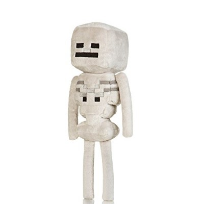 "Jinx Minecraft 12"" Skeleton Plush"