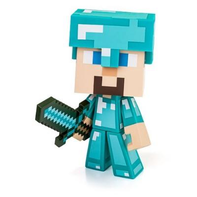 """Jinx unisex-adult Minecraft Diamond Steve 6"""" Vinyl Figure Standard"""