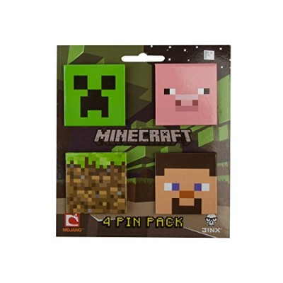 "Minecraft Pin Pack Button 5"" x 5"""