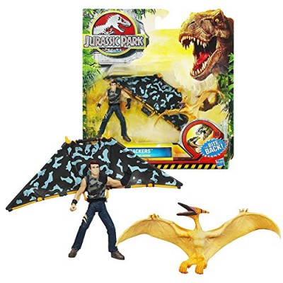 Jurassic Park Dino Trackers - Pteranodon vs. Sky Patrol Set