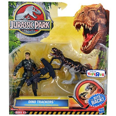 Jurassic Park Dino Trackers Tyrannosaurus Rex Vs. Ground Patrol Set