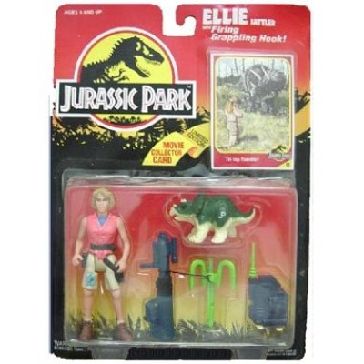 "Jurassic Park Series 1 ELLIE SATTLER 5"" Action Figure (1993 Kenner)"