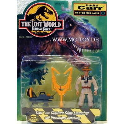 Jurassic Park the Lost World Eddie Carr Figure