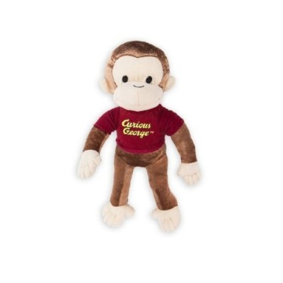 Curious George Monkey Large Plush Doll Stuffed Toy 16 inches