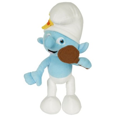 "Movie The Smurfs 9.5"" Plush Figure Doll - Vanity Smurf"