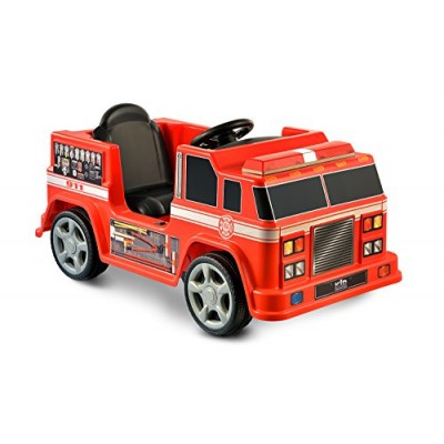 Kid Motorz Fire Engine, 6V, Red