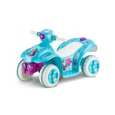 Disney Frozen Power Wheels Ride On Quad Bike 4 Wheeler Toddler's Toy