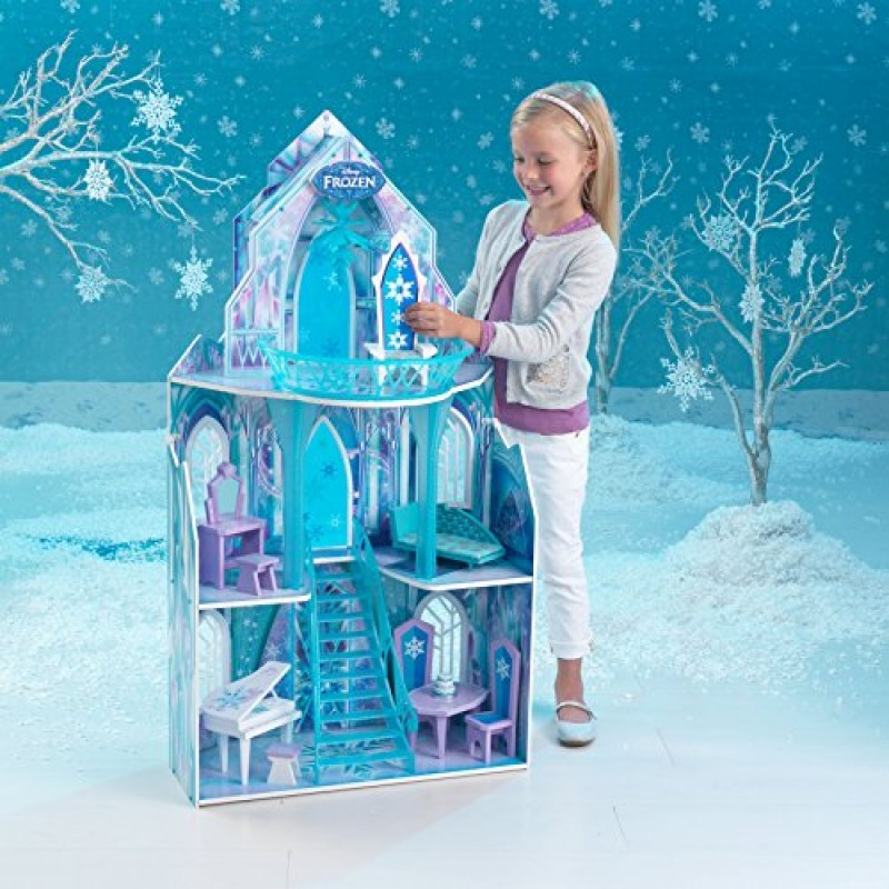 Amazoncom KidKraft Disney Frozen Ice Castle Dollhouse