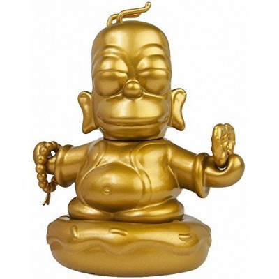 LootCrate September 2015 The Simpsons 3-Inch Golden Homer Buddha by KidRobot
