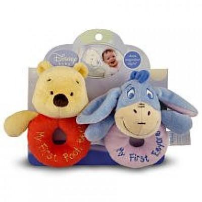 Kids Preferred Loop Rattles, Winnie the Pooh and Friends