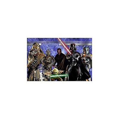 1 X Star Wars Generations Wall Mural