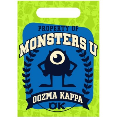 Monsters University Favor Bags (8 Count)