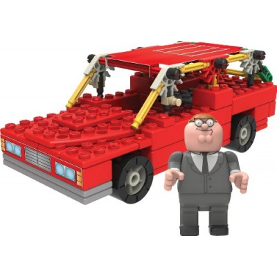 K'nex Family Guy-Peter and Station Wagon Building Set