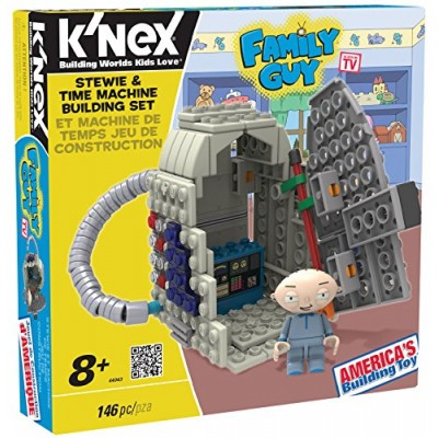K'nex Family Guy-Stewie and Time Machine Building Set