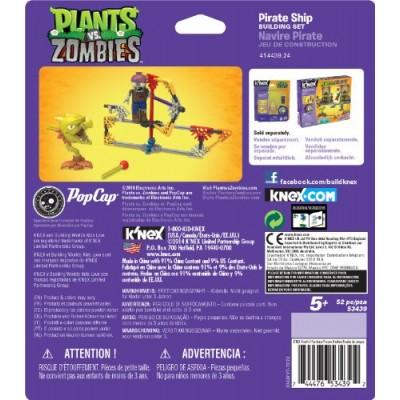 K'nex Plants vs. Zombies- Pirate Ship Building Set