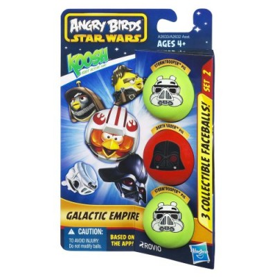 Koosh Angry Birds Star Wars Galactic Empire, 3-Pack