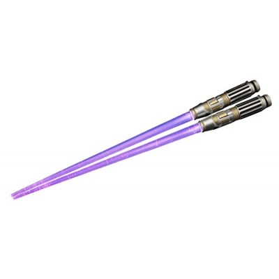 "Kotobukiya Mace Windu Light Up Version Lightsaber Chopsticks ""Star Wars"" Action Figure"