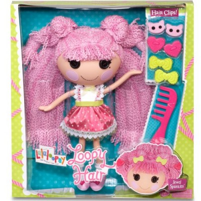 Lalaloopsy Loopy Hair Doll Jewel Sparkles