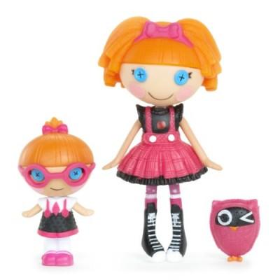Lalaloopsy Mini Littles Doll, Bea Spells-A-Lot/Specs Reads-A-Lot