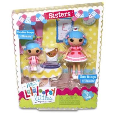 Lalaloopsy Mini Littles Stumbles Bumps 'N' Bruises and Rosy Bumps 'N' Bruises Doll
