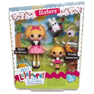 Lalaloopsy Mini Littles Tricky Mysterious and Misty Mysterious Doll