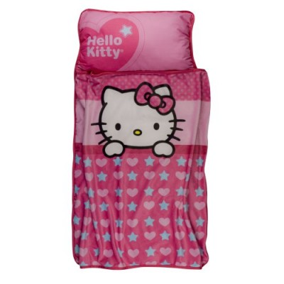 Lambs & Ivy Nap Mat, Hello Kitty Garden (Discontinued by Manufacturer)