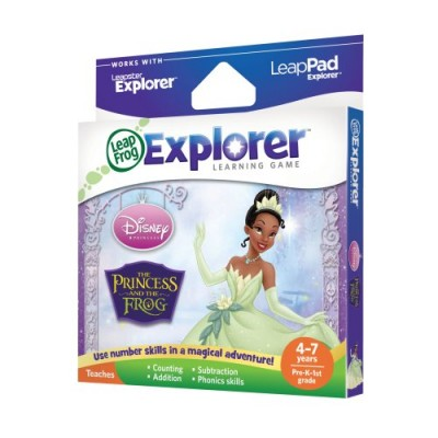 LeapFrog Explorer Disney The Princess and The Frog Learning Game