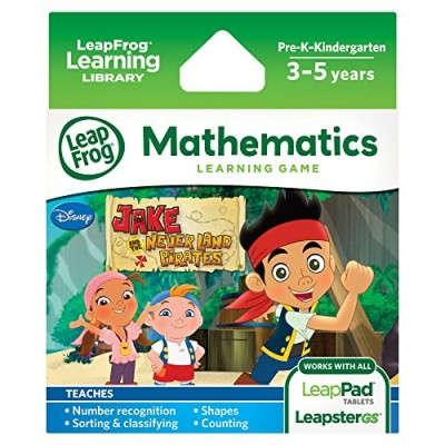 LeapFrog Jake and The Never Land Pirates Learning Game