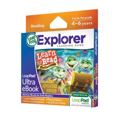 LeapFrog LeapPad Ultra eBook Learn to Read Collection: Adventure Stories (works with all LeapPad tablets)