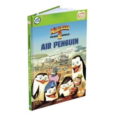 Leapfrog LeapReader & Tag Activity Storybook Madagascar: Escape 2 Africa Air Penguin