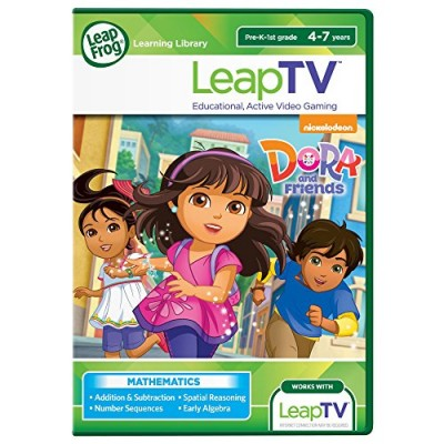 LeapFrog LeapTV Nickelodeon Dora and Friends Educational, Active Video Game
