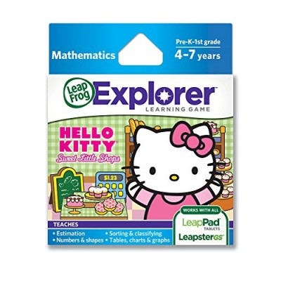 LeapFrog Learning Game Hello Kitty: Sweet Little Shops (works with LeapPad tablets and LeapsterGS)