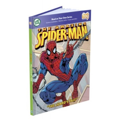 LeapFrog Tag Activity Storybook The Amazing Spider-Man: The Lizard's Tale