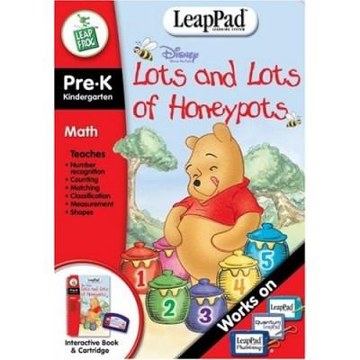 Pre-K & Kindergarten LeapPad Book: Pooh's Lots and Lots of Honeypots