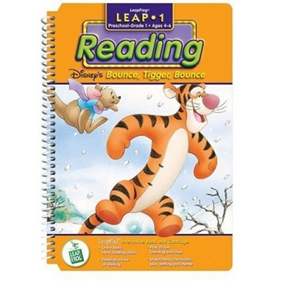 First Grade LeapPad Book: Bounce, Tigger, Bounce