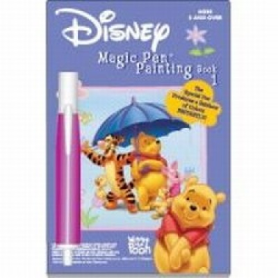 Disney Magic Pen Painting Book: Winnie the Pooh Book 1