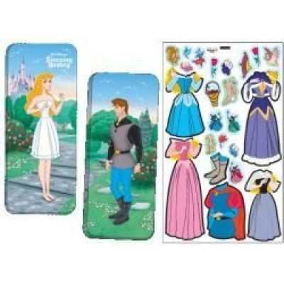 Magnetic Paper Dolls Travel Tin - Sleeping Beauty