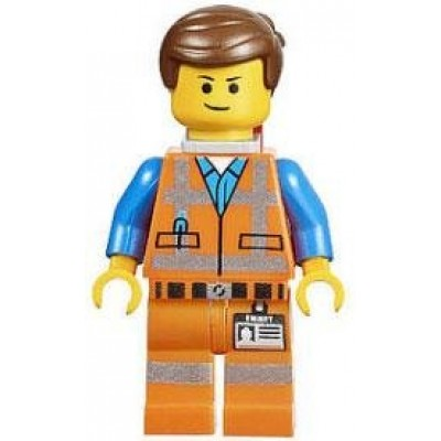 LEGO The Movie LOOSE Mini Figure Emmet with Piece of Resistance