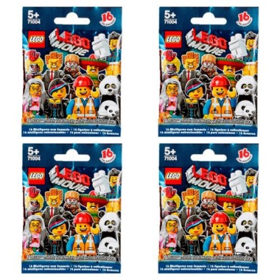 LEGO® Minifigures - The LEGO Movie Series 71004 (FOUR random packs)
