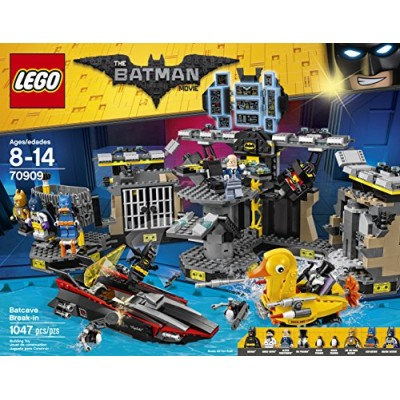 LEGO BATMAN MOVIE Batcave Break-in 70909 Building Kit